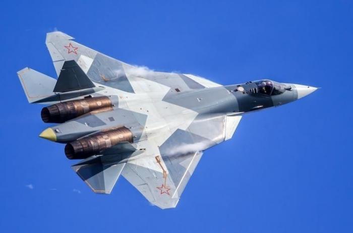 Реакция США на появление Су-57 в Сирии