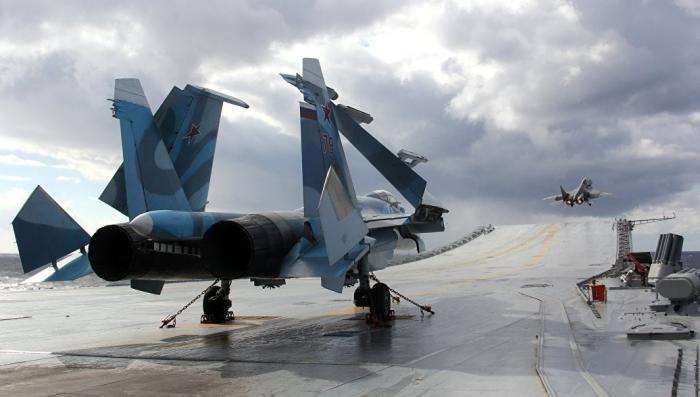 Для военно-морского флота России построят новый авианосец