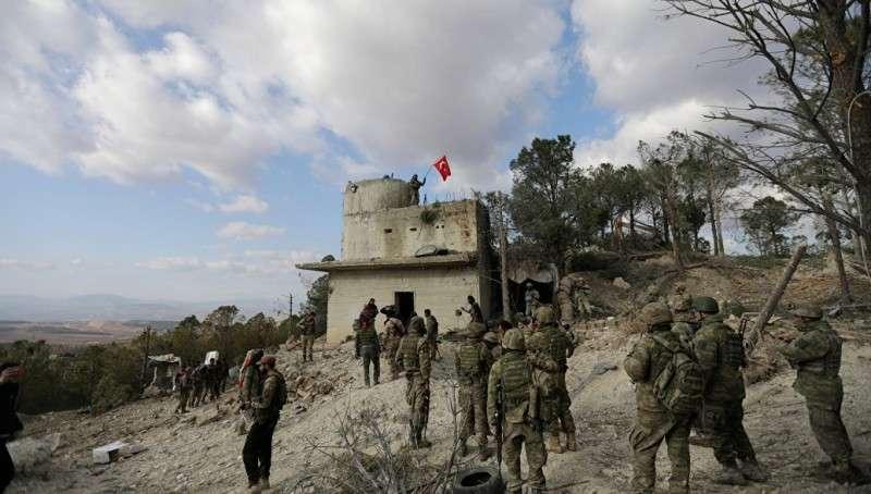 Сирия: Турция ввела в Африн армейский и полицейский спецназ