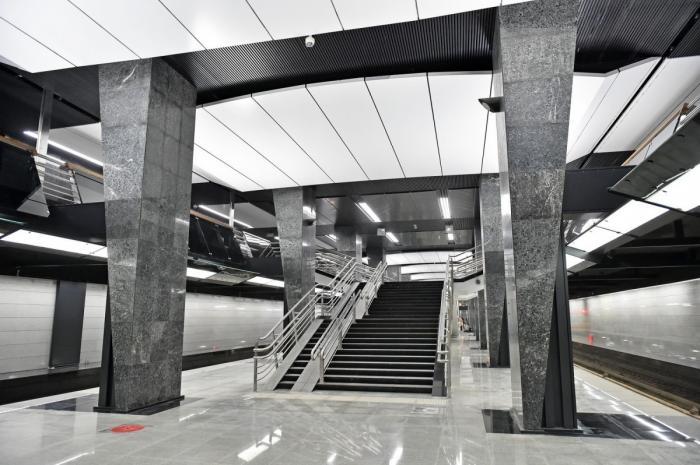 ВМоскве открыли пять новых станций метро, четыре из них имеют пересадки