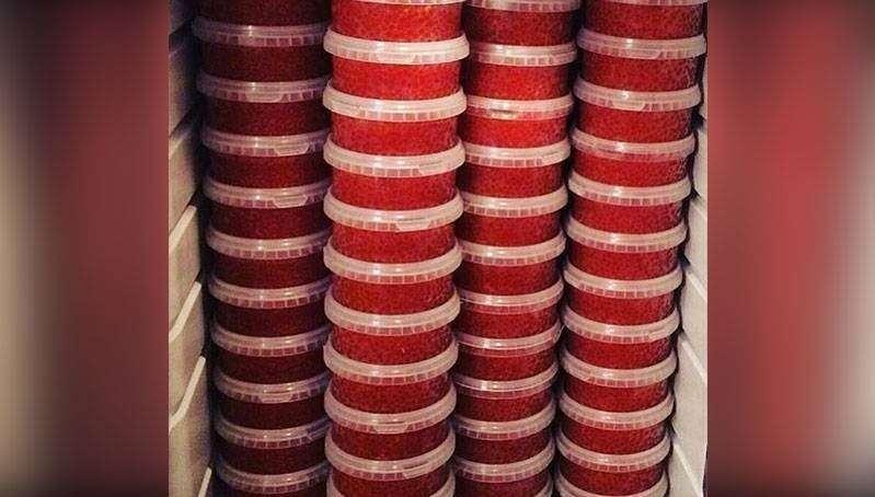 В Якутии ФСБ украла у чукотской общины красной икры на 14 миллионов рублей