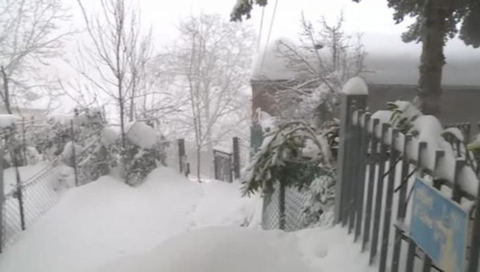 Европа: циклон принёс рекордные морозы и снегопады. Из Сибири с любовью