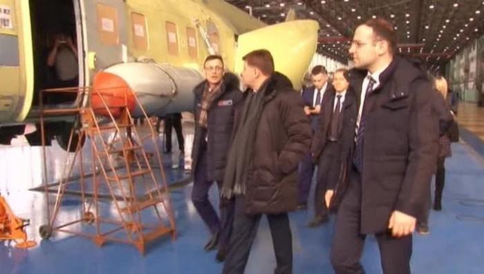 Российский вертолётный завод начнет серийный выпуск лёгких пассажирских самолётов ТВС-2ДТС