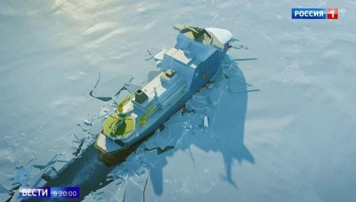 Россия строит сверхмощный ледокол «Лидер», не имеющий аналогов в мире
