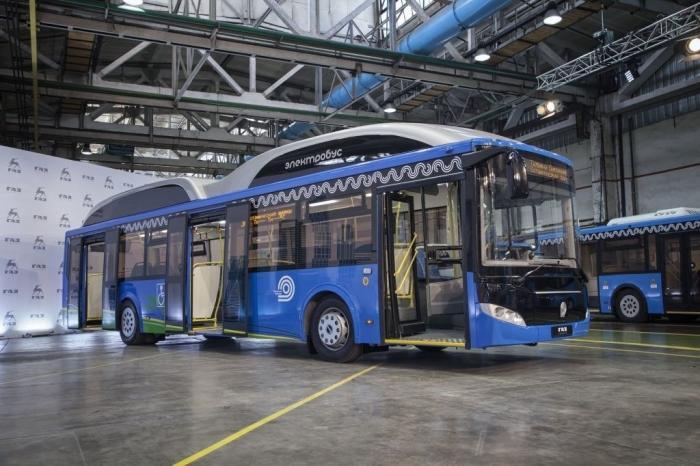 ЛиАЗ представил новый электробус на базе низкопольного автобуса большого класса ЛиАЗ-5292