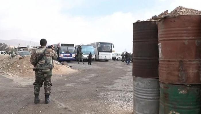 Сирия, Восточная Гута: наёмники США сорвали вывод людей в безопасный район
