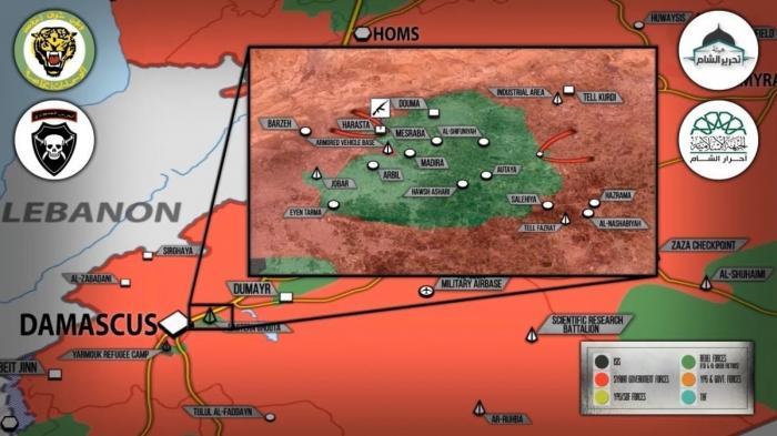 Сирия. Наёмники США обвинили Башара Асада в применении химоружия