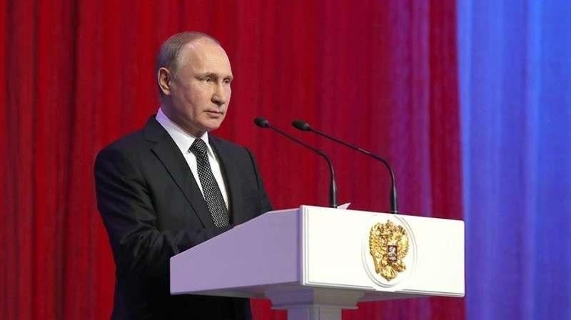 Владимир Путин на коллегии МВД России. Прямая трансляция