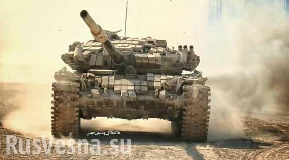 Сирия, Восточная гута: «Тигры» выбивают боевиков из пригородов Дамаска
