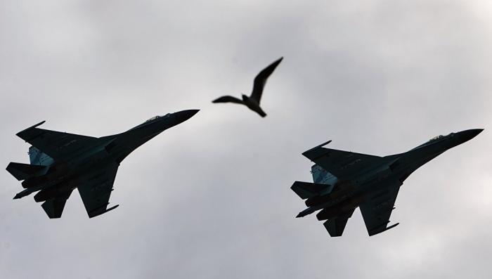 ВКС России перехватили пять военных самолетов за неделю