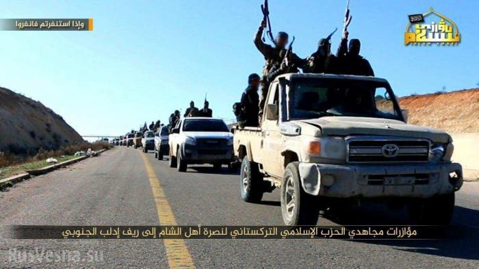 Сирия: жестокие уйгурские наёмники помогли Аль-Каиде (филиалу ЦРУ) отбить 4 города