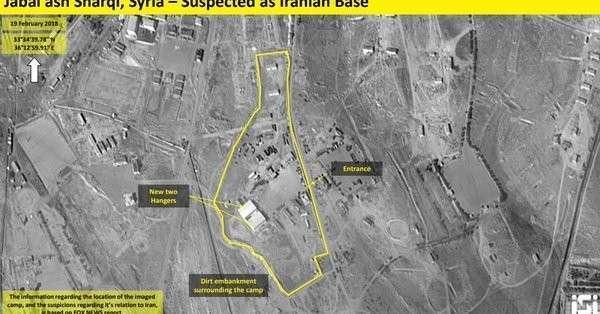 Иран разместил в Сирии ракеты, способные уничтожить Израиль