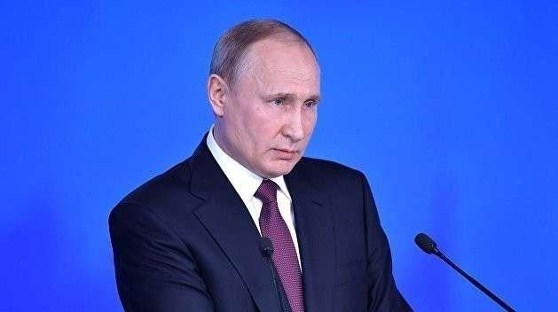 Послание Владимира Путина: Украина не представляет существенной угрозы для России