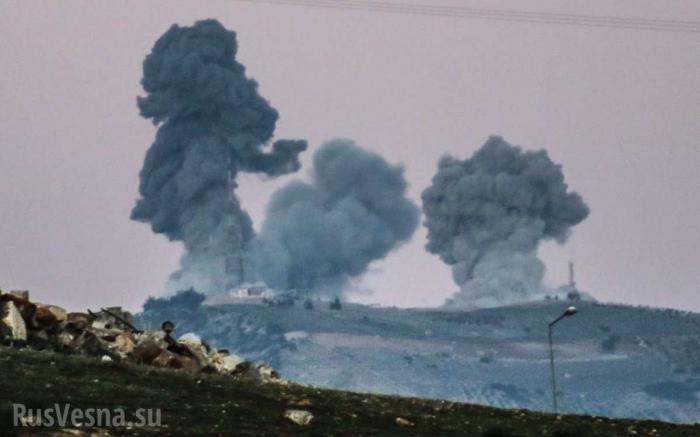 Ракетный удар бандитов США по армии Сирии и русским ЧВК. Версия немецкого журнала Шпигель