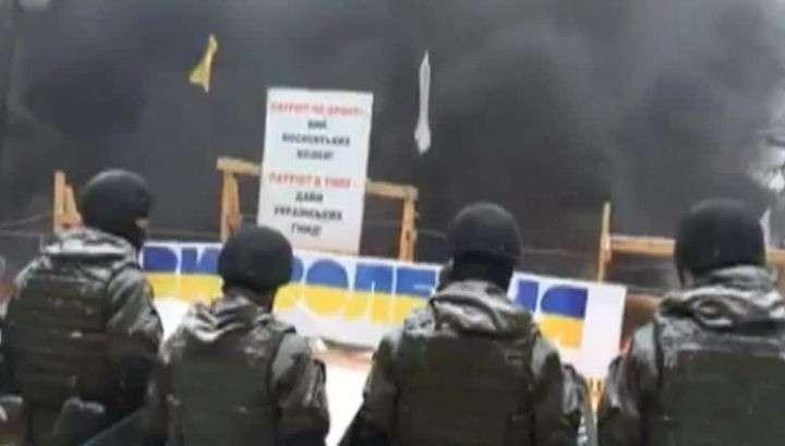 Киев: в драке у Верховной рады задержаны 50 человек