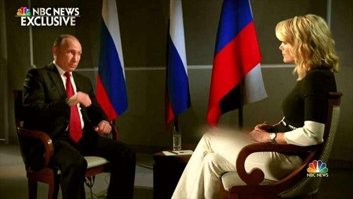Иностранцы об интервью Путина