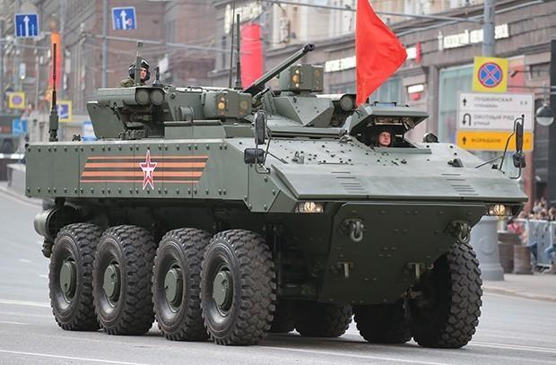 БТР «Бумеранг» – путь новейшей бронетехники. Военная приёмка