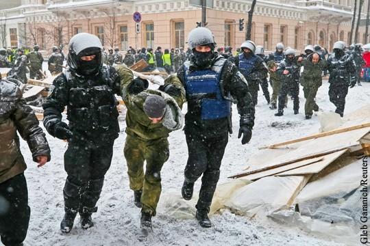 Киев. Михомайдан опять смешали с кровью и снегом