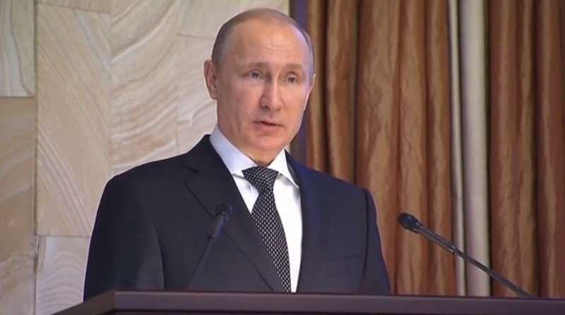 Владимир Путин на заседании коллегии ФСБ. Полный текст