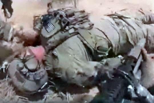 Видео охоты ИГИЛ на спецназ США. 18+