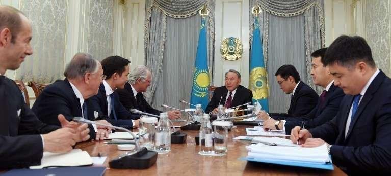 Высадка душегубов Ротшильда в Казахстане: проект будущего мироустройства