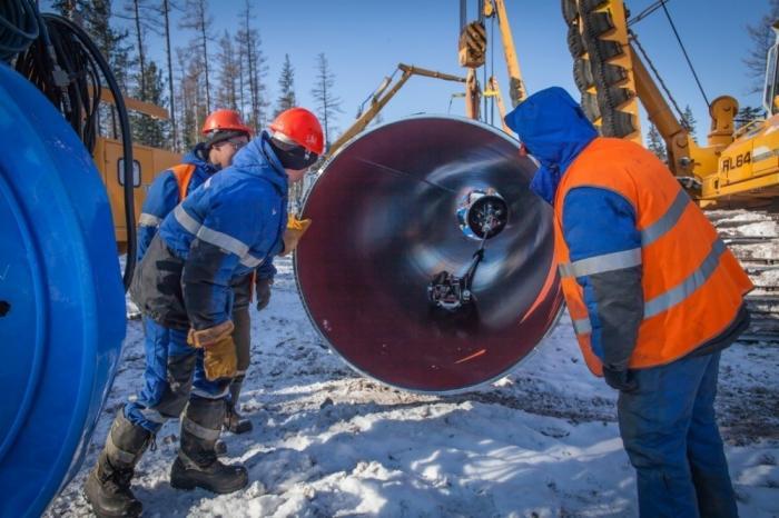 Газопровод «Сила Сибири» построен на три четверти длины
