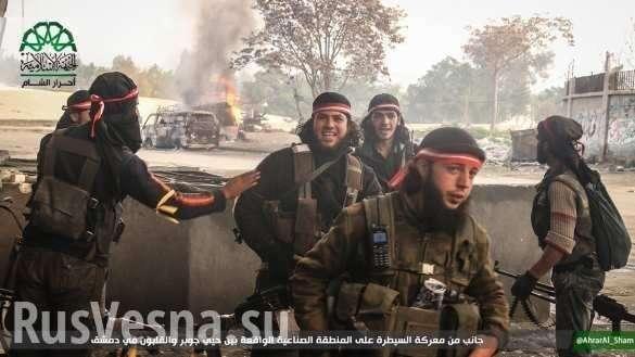 Жестокие бои под Дамаском: Запад открыл«второй фронт» в пользу боевиков (ВИДЕО) | Русская весна