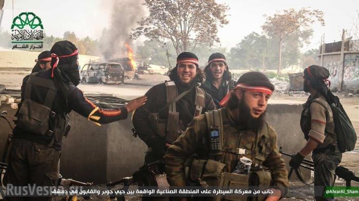 Сирия, Восточная Гута: паразиты открыли«второй фронт» для своих наёмников