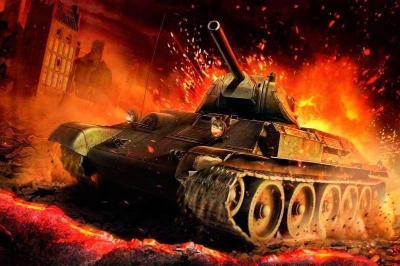 Как меткий танкист Фадин в одном бою уничтожил кучу фашистов, техники и самолёт в придачу