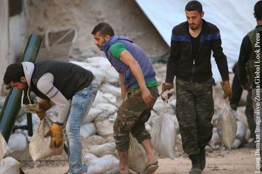 Сирия, Восточной Гута. Наёмники США обстреляли посольство и торгпредство России
