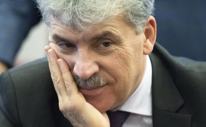Врунишку Грудинина ЦИК снимать с выборов не будет, но информацию о его счетах опубликует