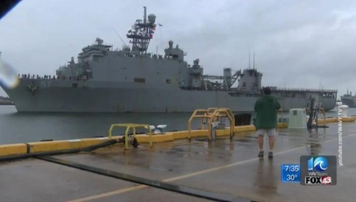 Морская пехота США начинает отрабатывать высадку на черноморское побережье