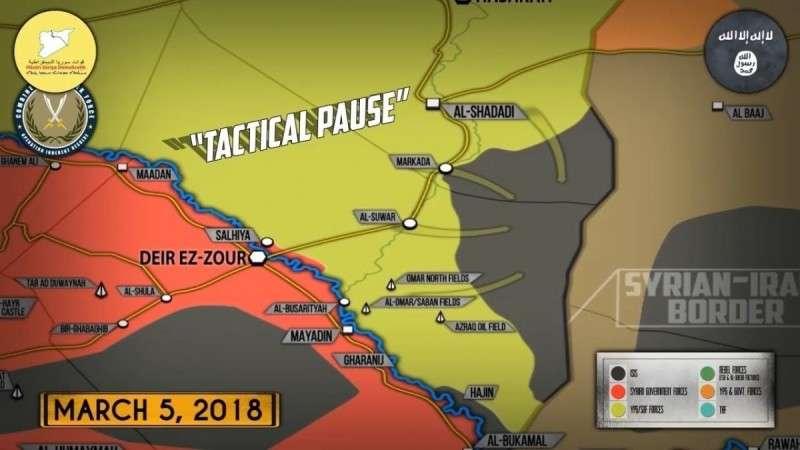 Сирия. США официально прекратили борьбу со своими наёмниками – ИГИЛ