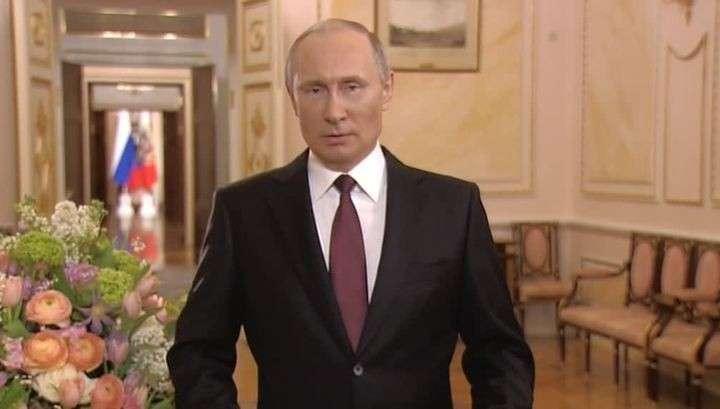 Владимир Путин поздравил женщин с 8 Марта стихами Бальмонта и добрыми пожеланиями