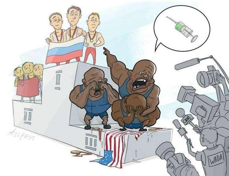 Юмор помогает нам пережить смуту: вспоминая Олимпиаду