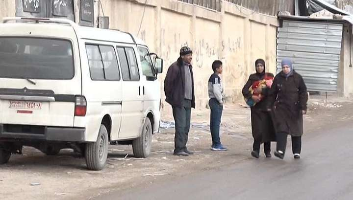Американские наёмники наказывают жителей Восточной Гуты за попытки сбежать