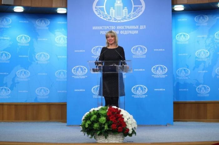 Мария Захарова провела еженедельный брифинг МИД России 07.03.2018