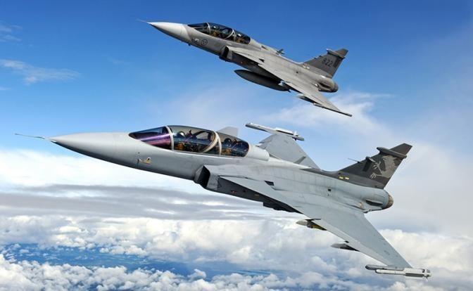 Швеция: Гринспен E разобьет в пух и прах Су-30СМ и Су-35С