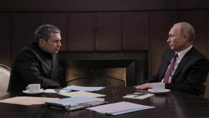 Фильм Соловьева о Путине «Миропорядок 2018» за два дня просмотрели 11 миллионов