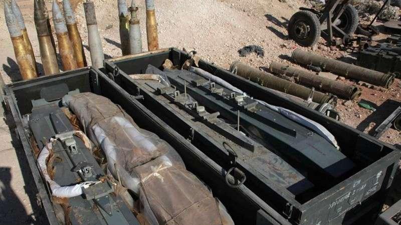 Сирийская армия в Восточной Гуте перехватила грузовики с американским оружием