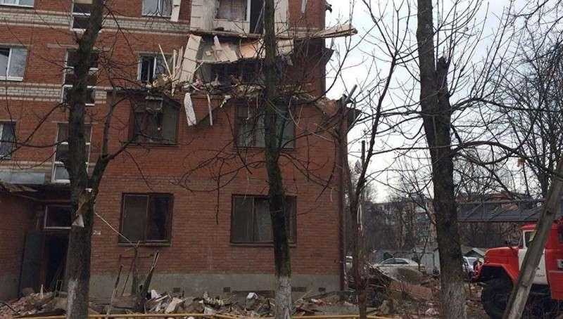 Краснодар: в многоэтажке произошёл взрыв... Газа