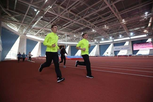 В Санкт-Петербурге появился новый атлетический манеж