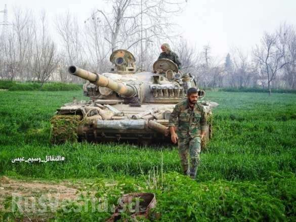 Сирия, Восточная Гута: спецназ Тигры разрезают котёл на 3 части | Русская весна