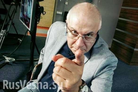 Жид Ганапольский в бессильной злобе оскорбил сотни людей в прямом эфире | Русская весна