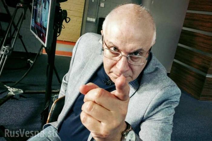 Жид Ганапольский в бессильной злобе оскорбил сотни людей в прямом эфире
