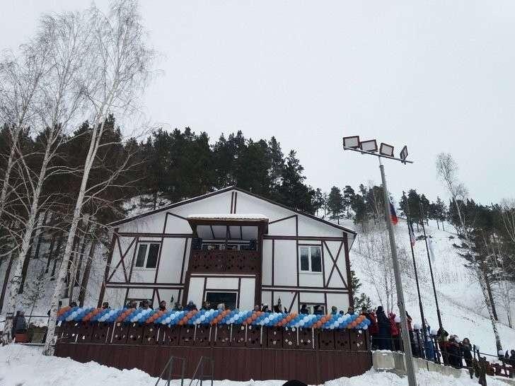 7. Новый горнолыжный комплекс открыли в Хакасии Хорошие, добрые, новости, россия, фоторепортаж