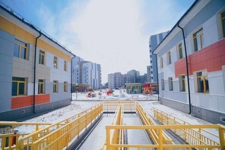 2. Детский сад на 230 мест открыт в строящемся городе Циолковский Хорошие, добрые, новости, россия, фоторепортаж