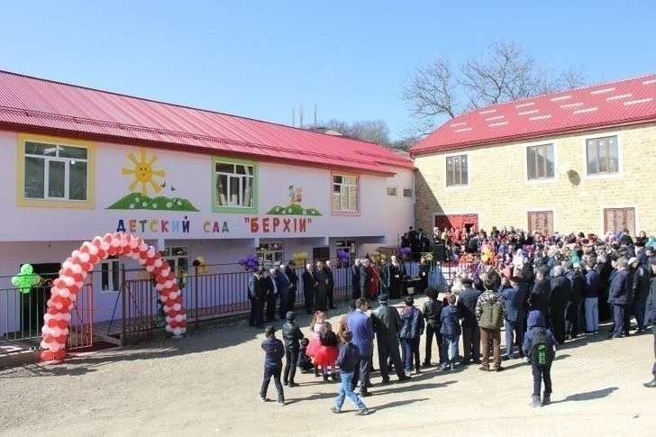 31. Детский сад на 60 мест открыт в Дагестане Хорошие, добрые, новости, россия, фоторепортаж