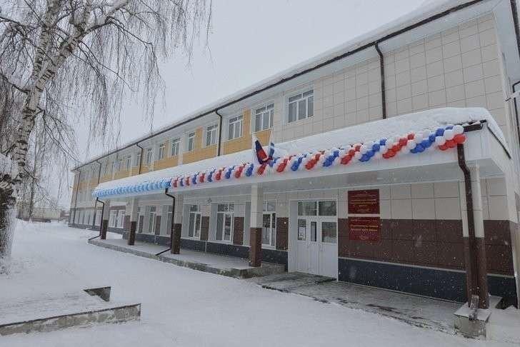 40. В Республике Алтай открыта вторая очередь Турочакской школы Хорошие, добрые, новости, россия, фоторепортаж