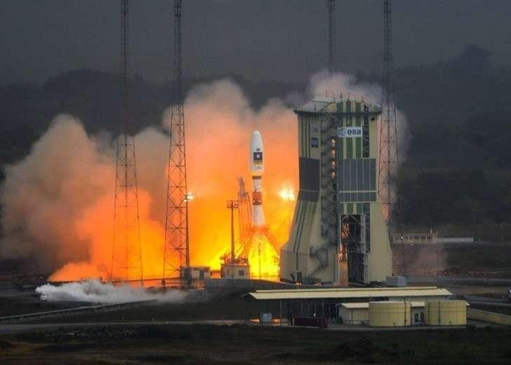 49. Ракета-носитель «Союз-СТ-Б» успешно вывела спутники связи на орбиту Хорошие, добрые, новости, россия, фоторепортаж